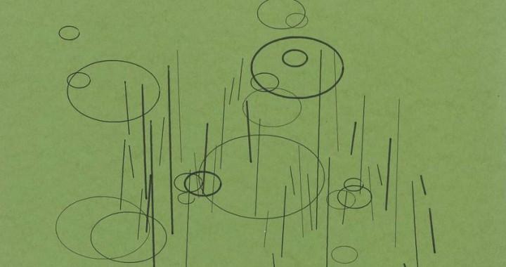 Plotterzeichnung von Frieder Nake