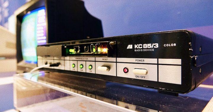 KC85/3 an Bord der MS Wissenschaft